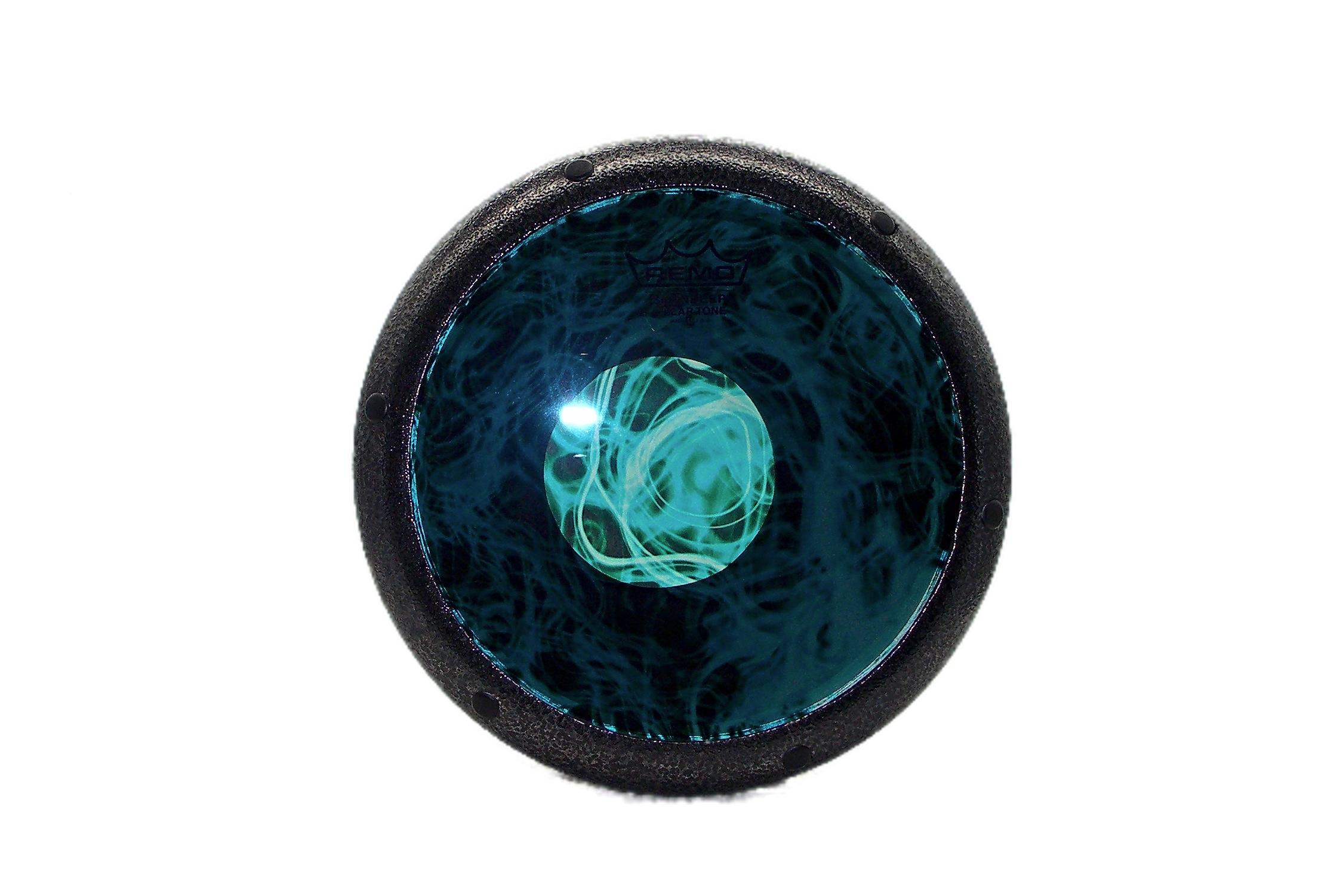 GEF-Silver-Metallic-Finish-Turquoise-Mist-Cleartone-Head-Darabuka