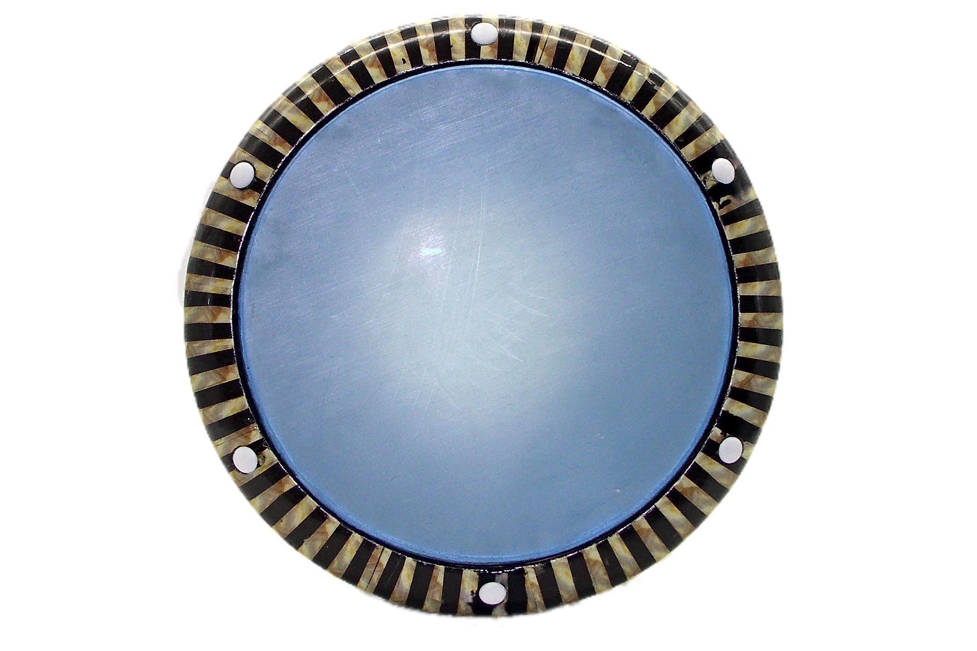 Syrian-Ikaa-Diab-Vinyl-Pattern-Clear-Blue-Head-Darabuka